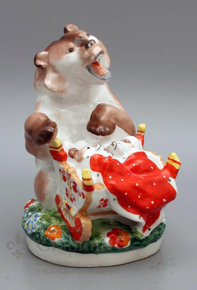 Статуэтка «Медведица с колыбелью»