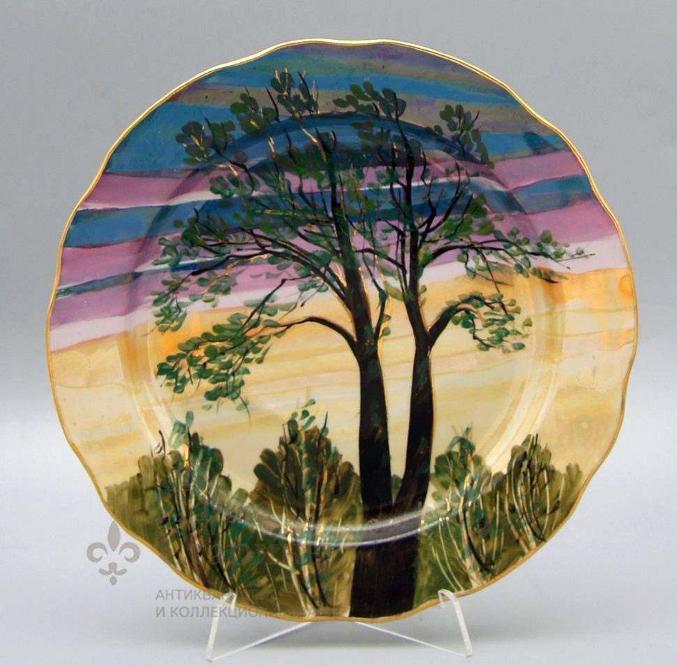 Тарелка «Лесное утро»