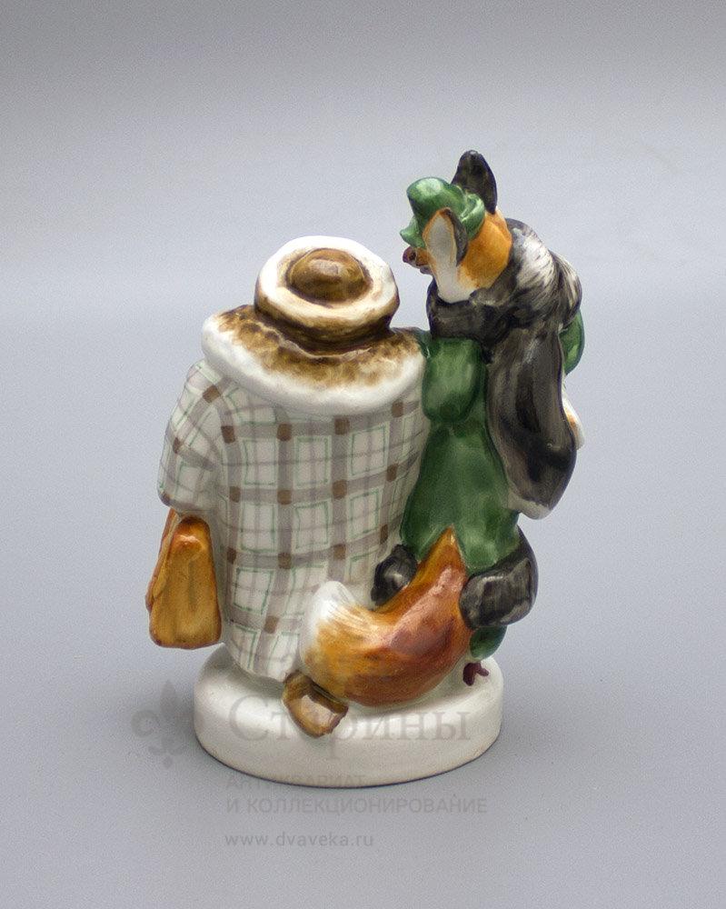 вербилки статуэтка лиса и петух