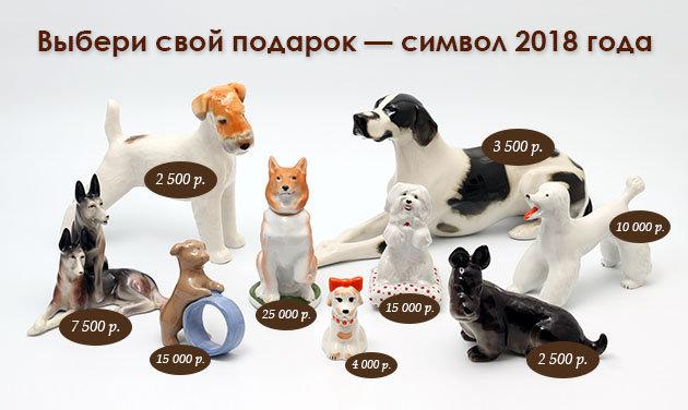 Подарки к наступающему новому году собаки