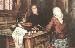 Советская живопись 19 века в магазине лавка Древностей
