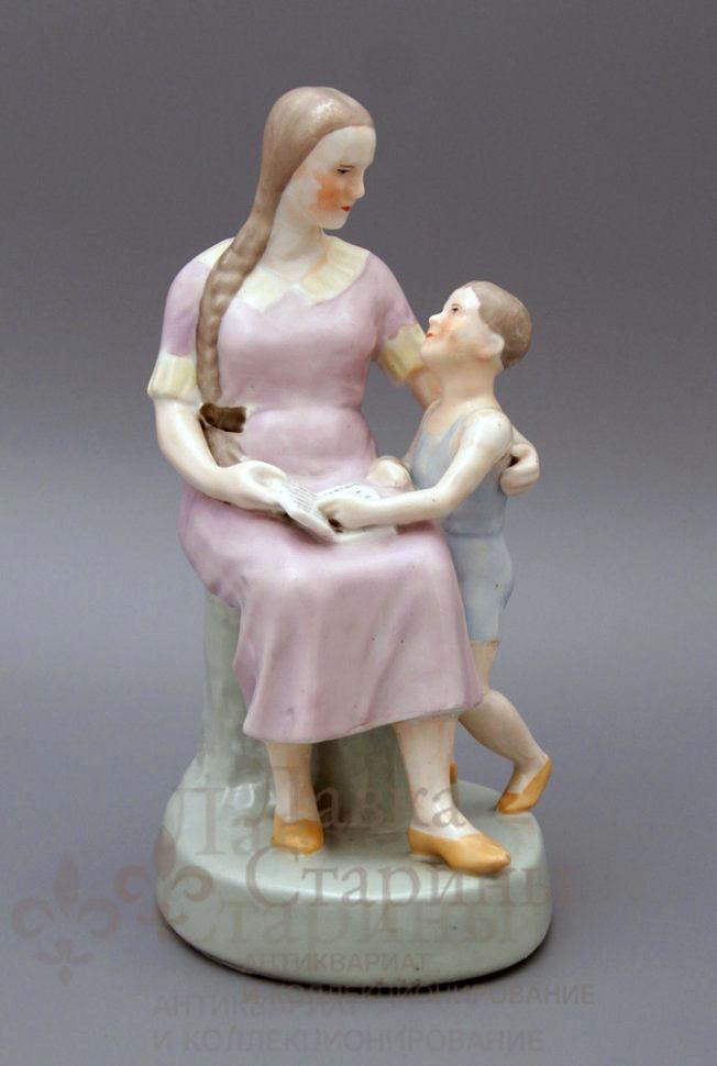 Статуэтка «Мама с сыном»