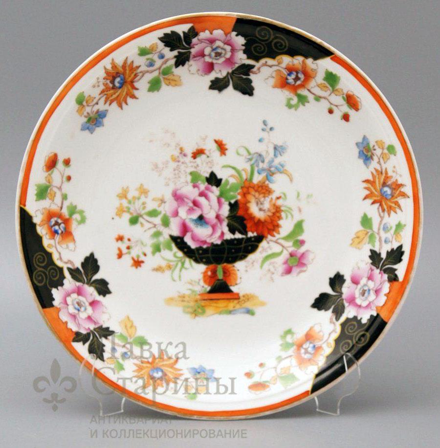 Тарелка в стиле шинуазри