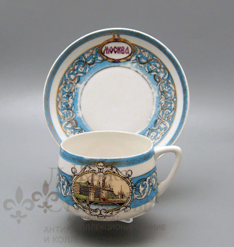 Чайная пара «Москва СССР»