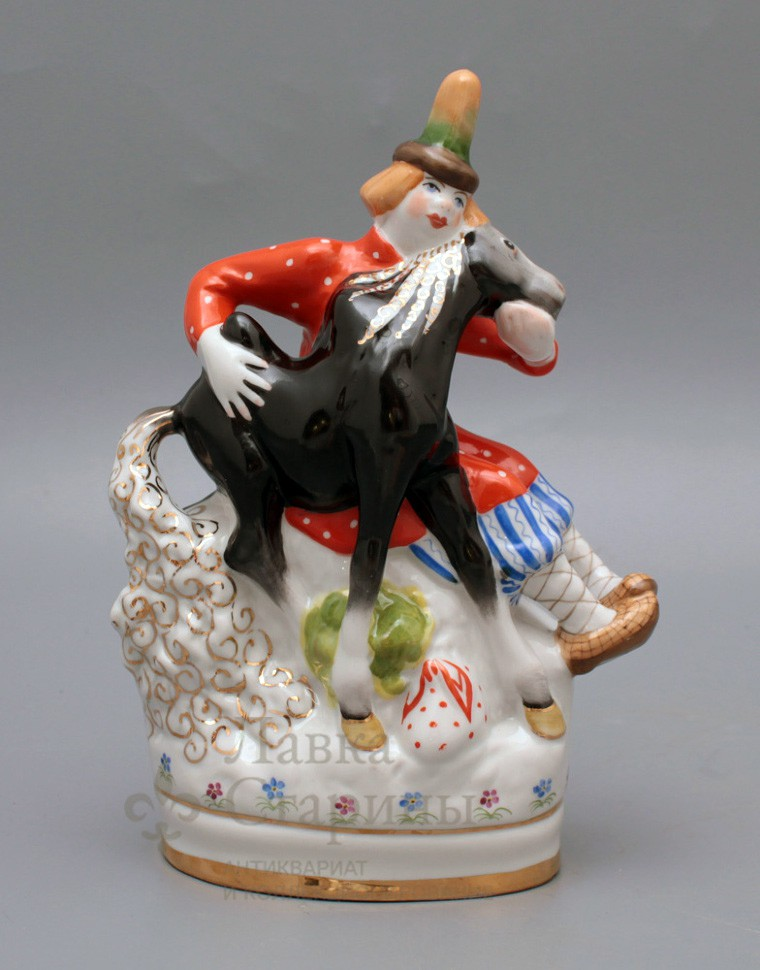 Статуэтка «Иванушка с коньком-горбунком из триптиха»